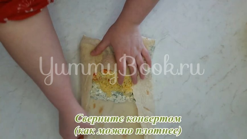 Шаурма с куриным филе по-домашнему  - шаг 28