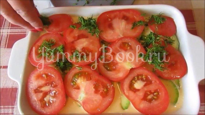 Запеканка из курицы с кабачками и помидорами - шаг 4