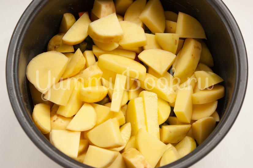 Овощное рагу с фрикадельками в мультиварке - шаг 3