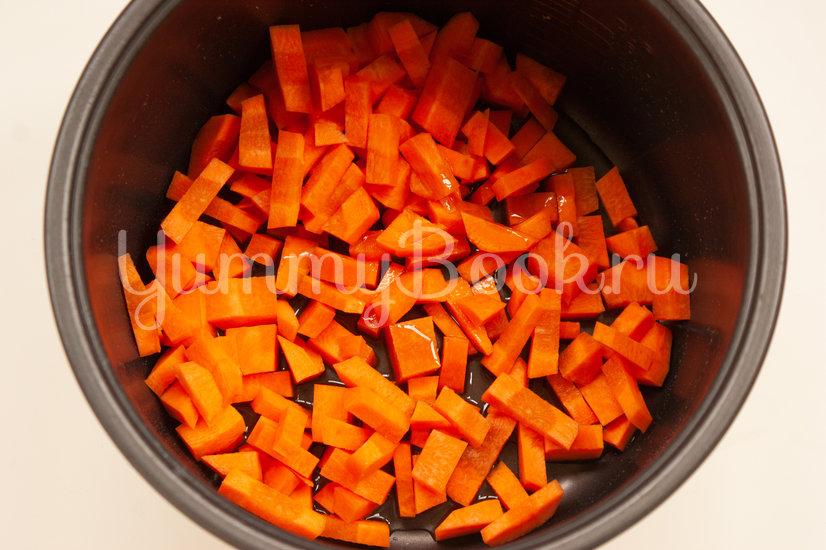 Овощное рагу с фрикадельками в мультиварке - шаг 1