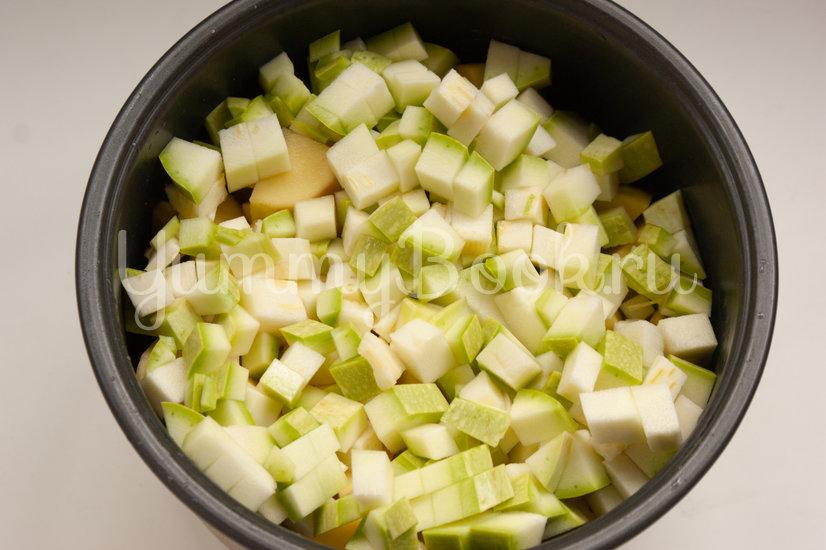 Овощное рагу с фрикадельками в мультиварке - шаг 4