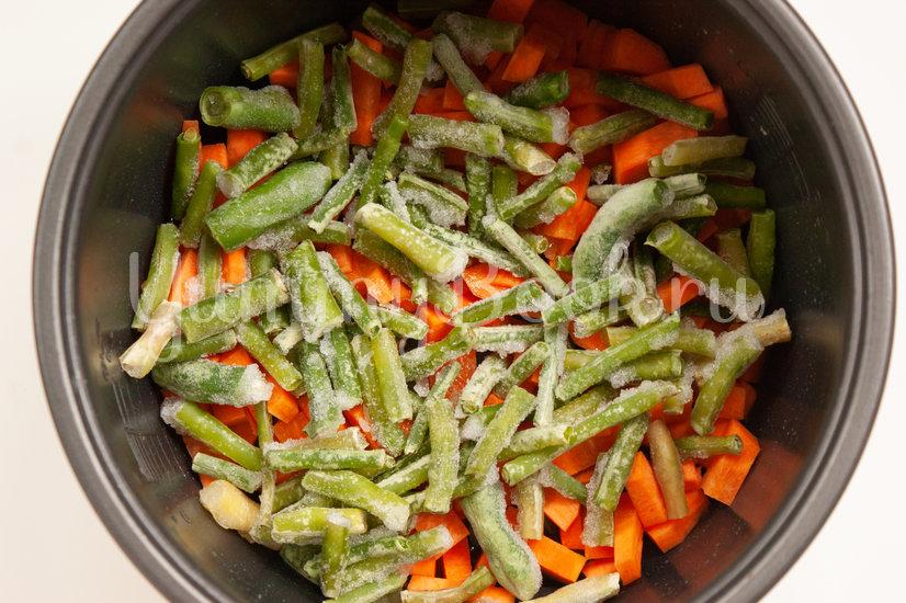 Овощное рагу с фрикадельками в мультиварке - шаг 2