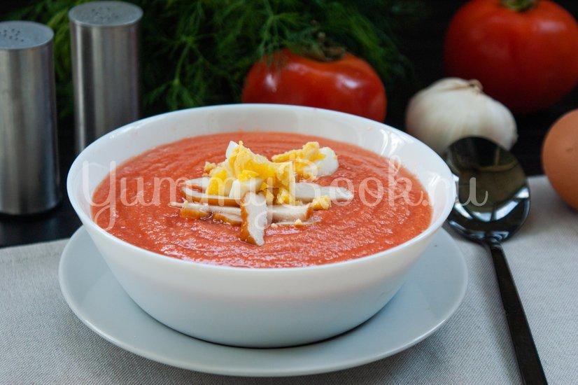 Холодный суп Сальморехо (Salmorejo) - шаг 7