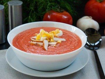 Холодный суп Сальморехо (Salmorejo)