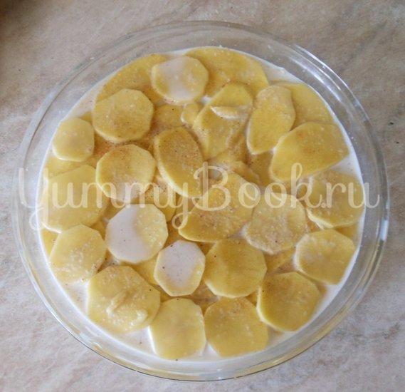 Картофель с молоком, запечённый в духовке - шаг 8