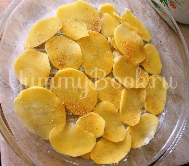 Картофель с молоком, запечённый в духовке - шаг 7
