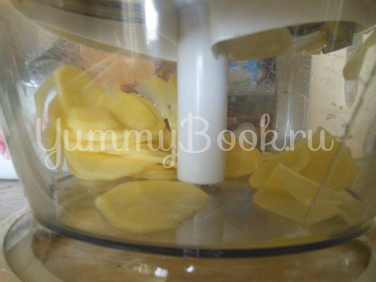 Картофель с молоком, запечённый в духовке - шаг 3