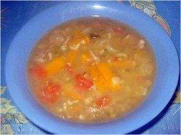 Суп из баранины с машем