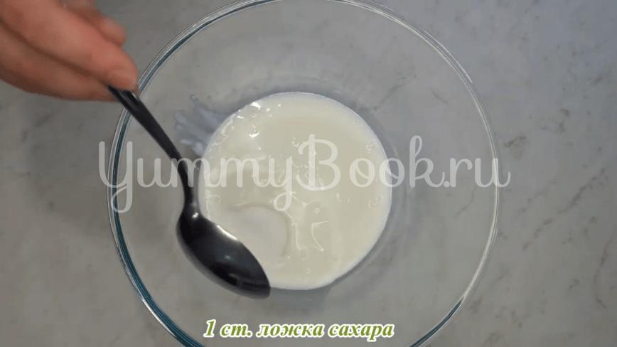 Лепешки на кефире - шаг 4