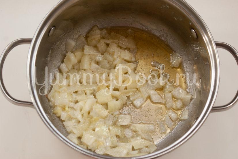 Холодный горохово-мятный суп - шаг 1