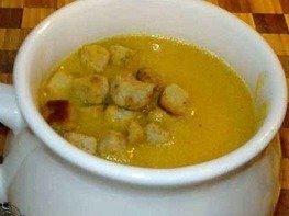 Суп-пюре из тыквы с мускатным орехом