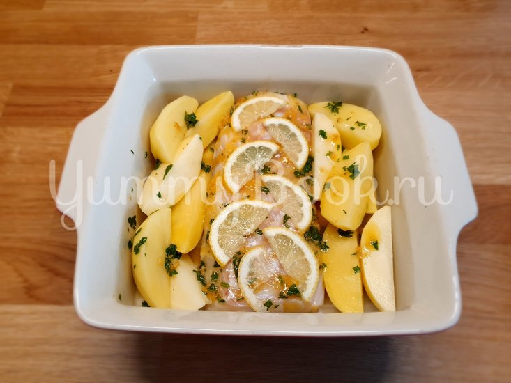Филе трески в чесночном масле запеченное в духовке - шаг 5