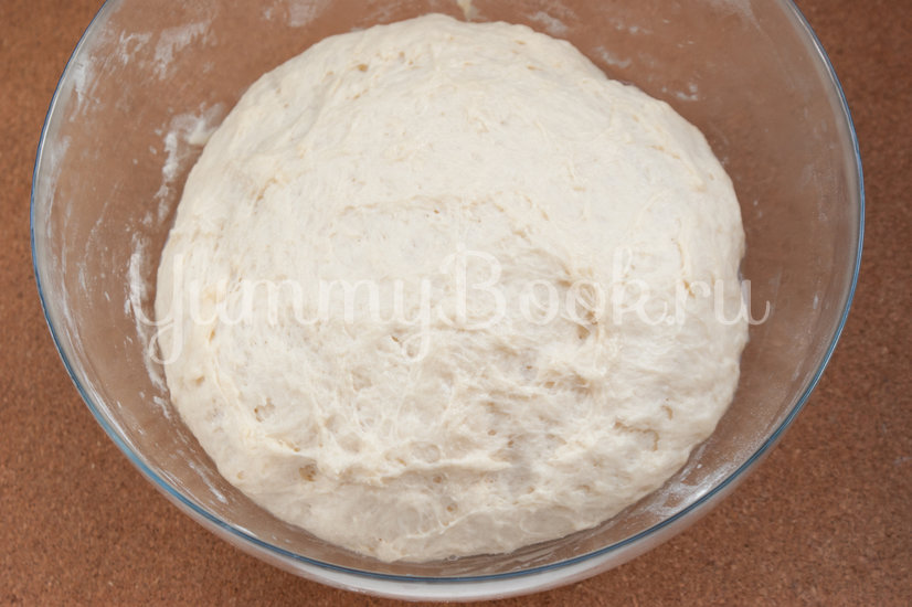 Дрожжевой пирог с фаршем в мультиварке - шаг 3