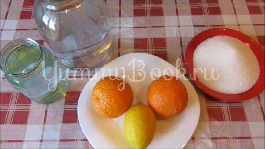 Домашний апельсиновый напиток - шаг 1