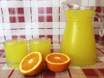 Домашний апельсиновый напиток