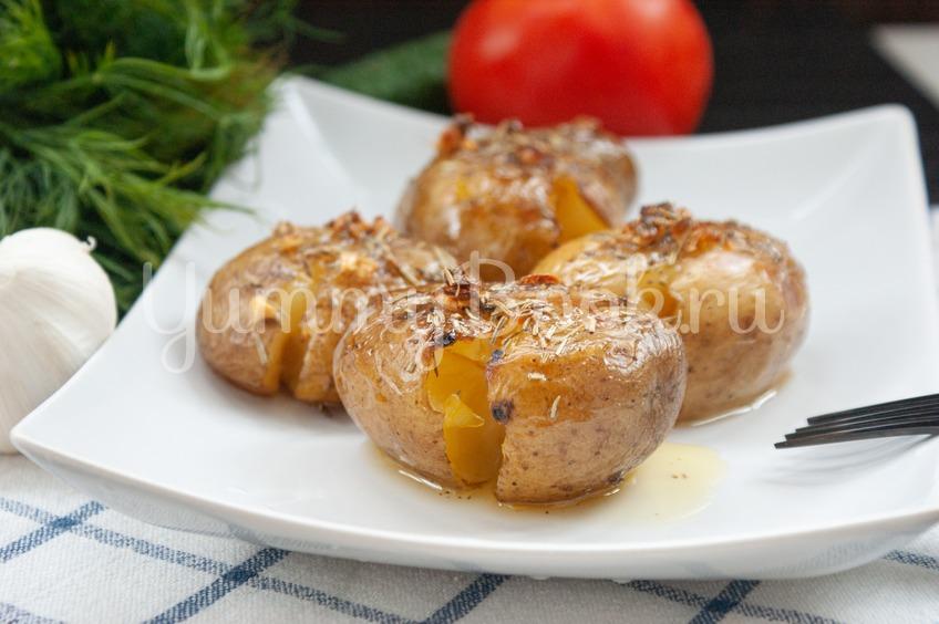 Давленый картофель по-португальски