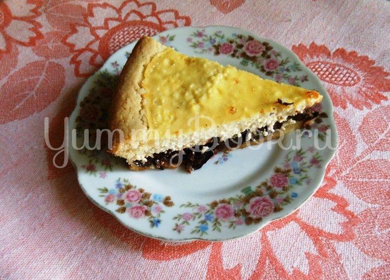 Творожный пирог с черносливом - шаг 15