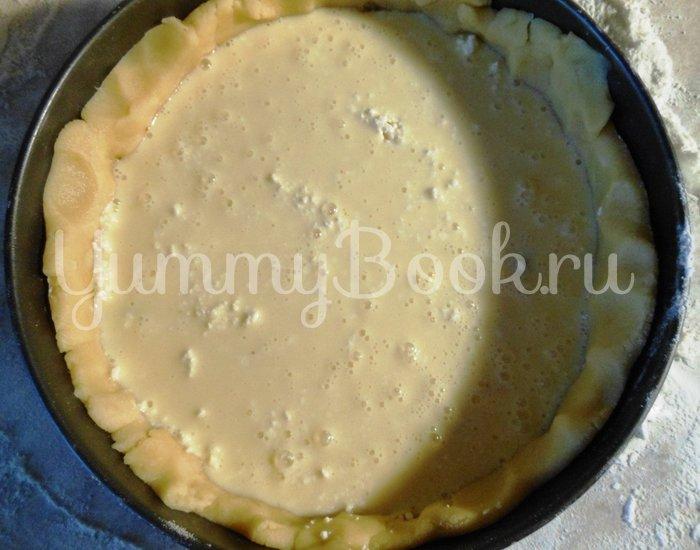 Творожный пирог с черносливом - шаг 13