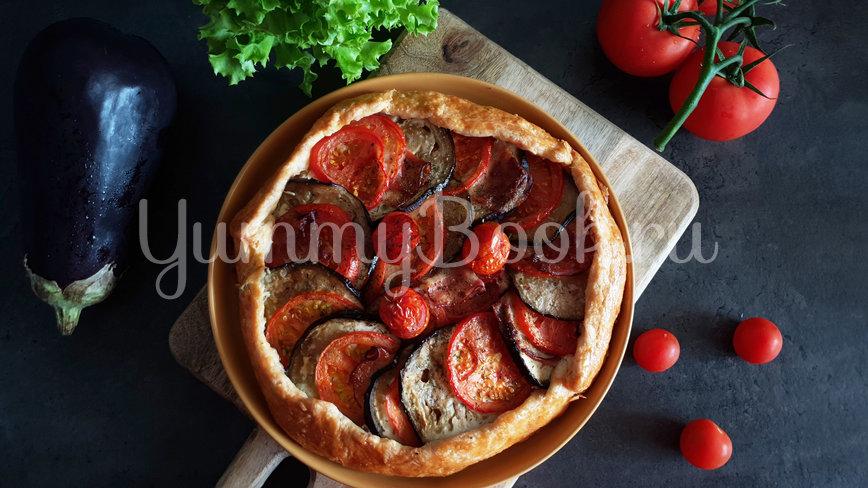 Галета с баклажанами, помидорами и беконом - шаг 11