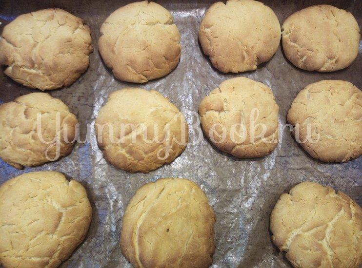 Быстрое печенье на сгущенке - шаг 6