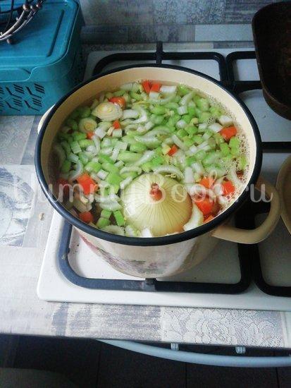 Суп-пюре с сельдереем  - шаг 3
