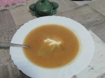 Суп-пюре с сельдереем