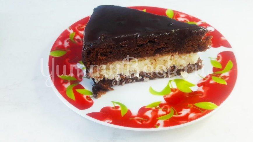 """Шоколадный торт """"Баунти"""" с кокосовой начинкой - шаг 19"""