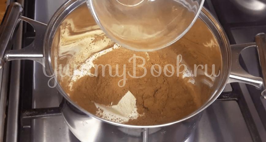 """Шоколадный торт """"Баунти"""" с кокосовой начинкой - шаг 16"""