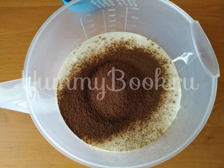 Шоколадный десерт из простой ряженки - шаг 1