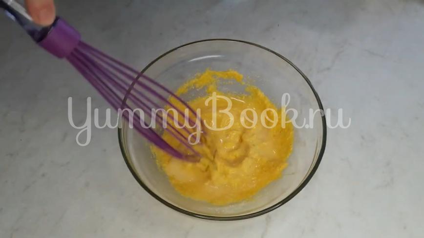 Жареные кабачки с чесноком в кляре - шаг 6