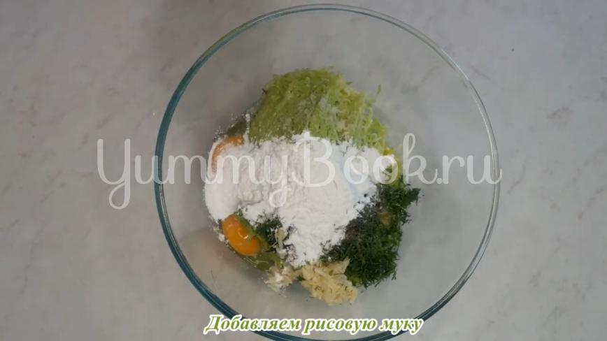 Оладьи из кабачков с рисовой мукой - шаг 7