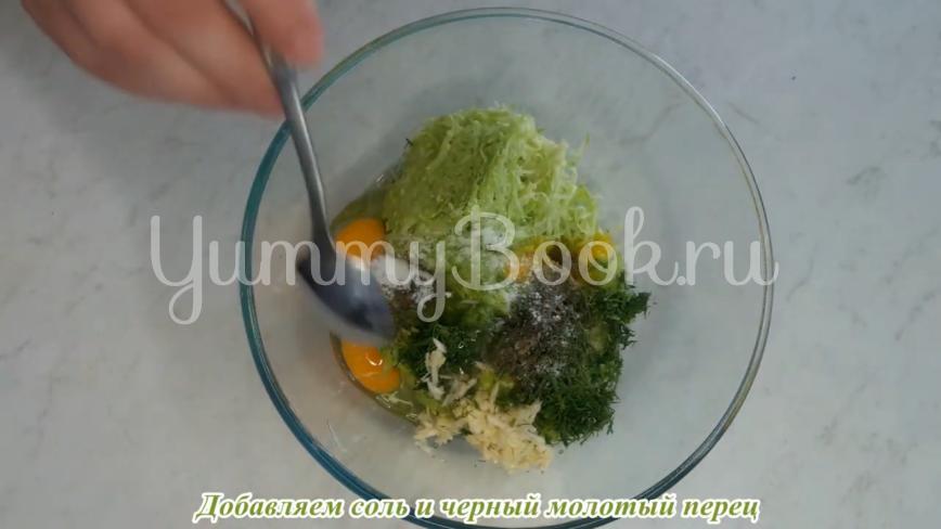 Оладьи из кабачков с рисовой мукой - шаг 6