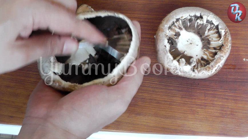 Грибы на мангале или шампиньоны на гриле - шаг 1