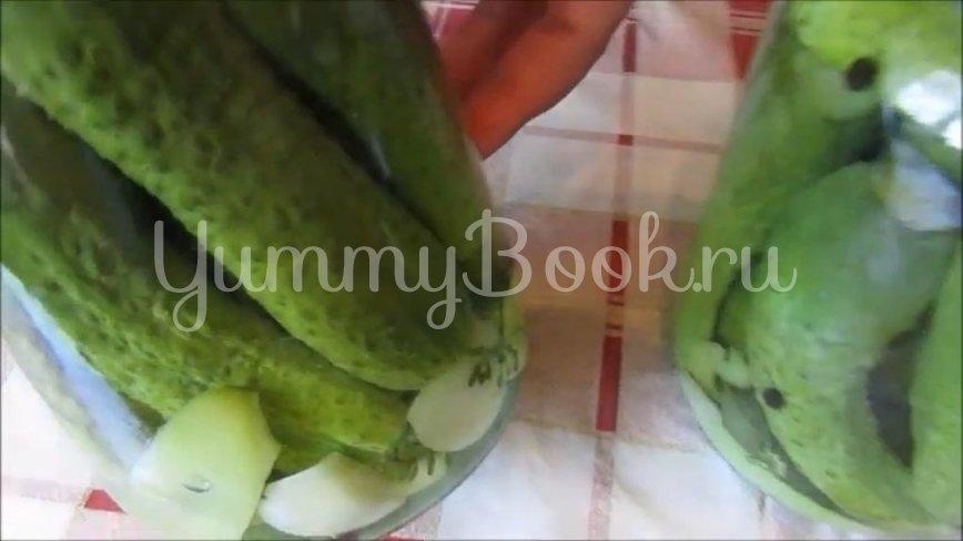 Хрустящие маринованные огурцы на зиму без стерилизации - шаг 3
