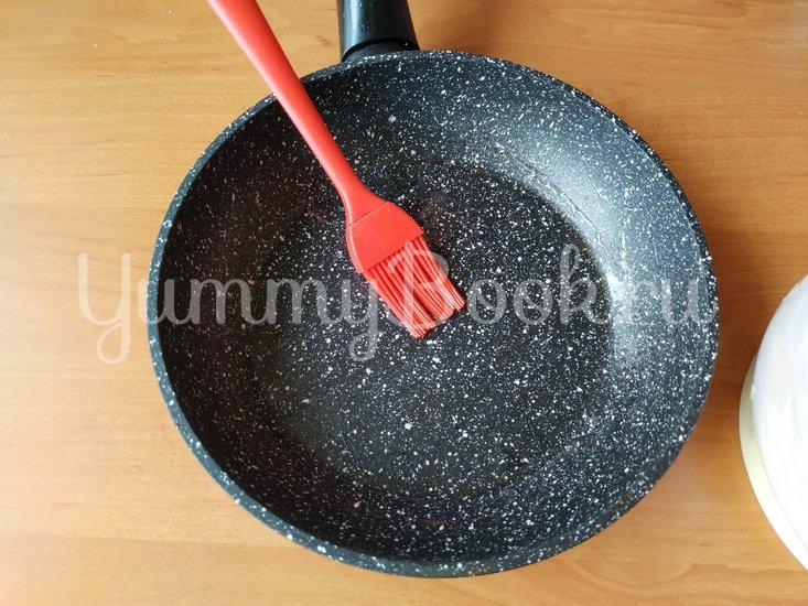 «Вареники» на сковороде с абрикосами - шаг 4