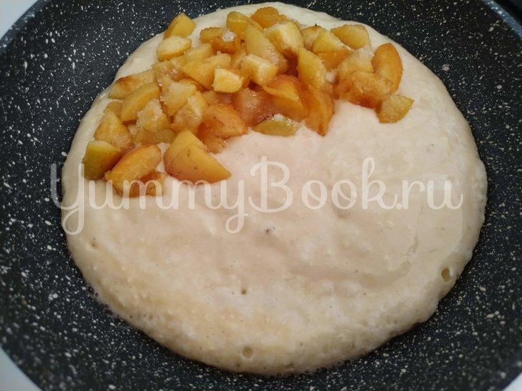 «Вареники» на сковороде с абрикосами - шаг 6