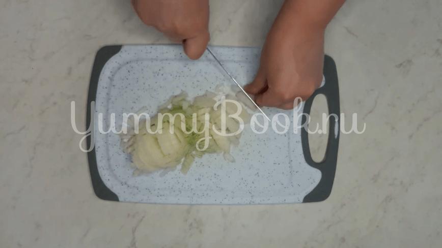 Рулеты из лаваша с картофелем и грибами - шаг 2