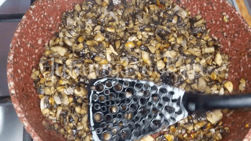 Рулеты из лаваша с картофелем и грибами - шаг 5