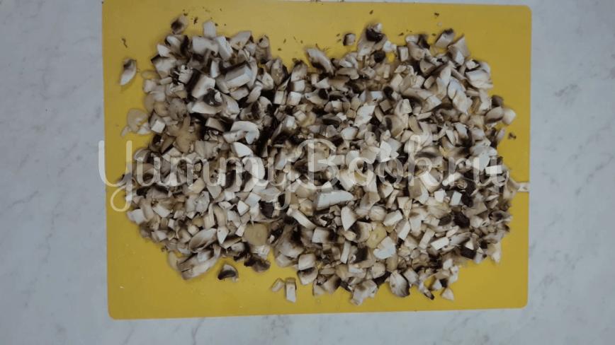 Рулеты из лаваша с картофелем и грибами - шаг 3