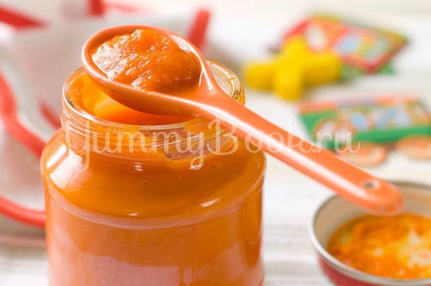 Детское морковное пюре