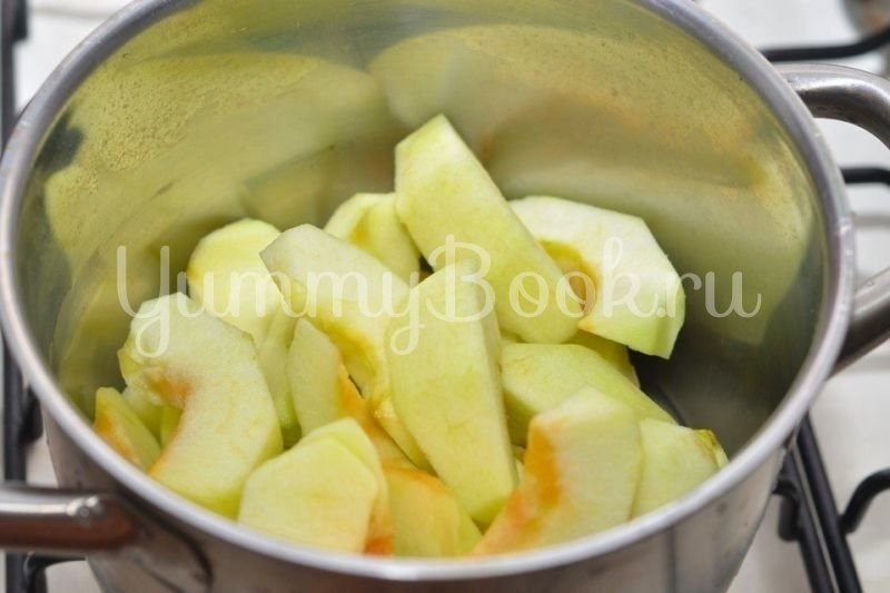 Детское яблочное пюре - шаг 2