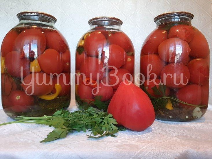 Маринованные помидоры на зиму - шаг 3