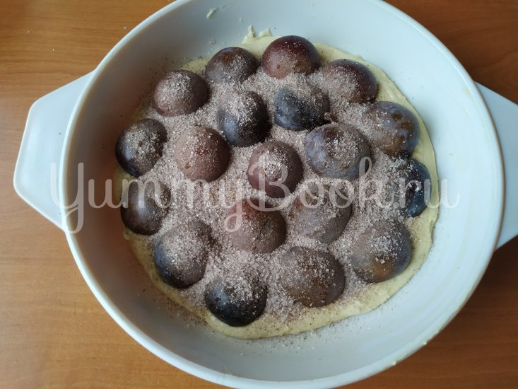 Сливовый пирог с корицей - шаг 6