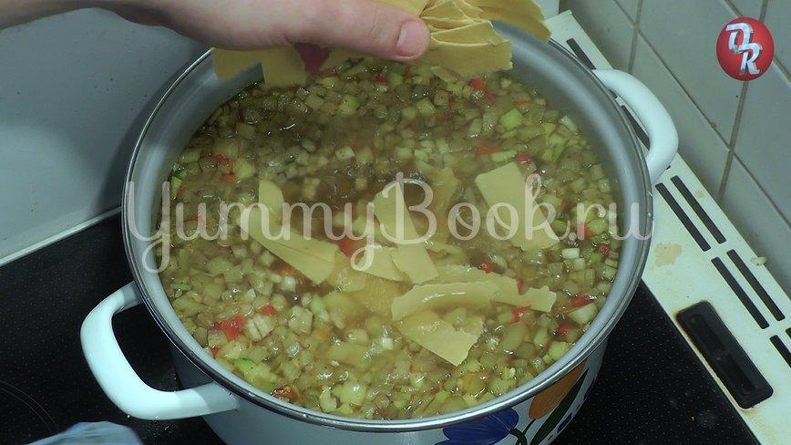 Суп с фрикадельками или немецкий свадебный суп - шаг 7