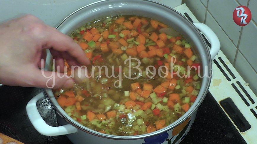 Суп с фрикадельками или немецкий свадебный суп - шаг 8