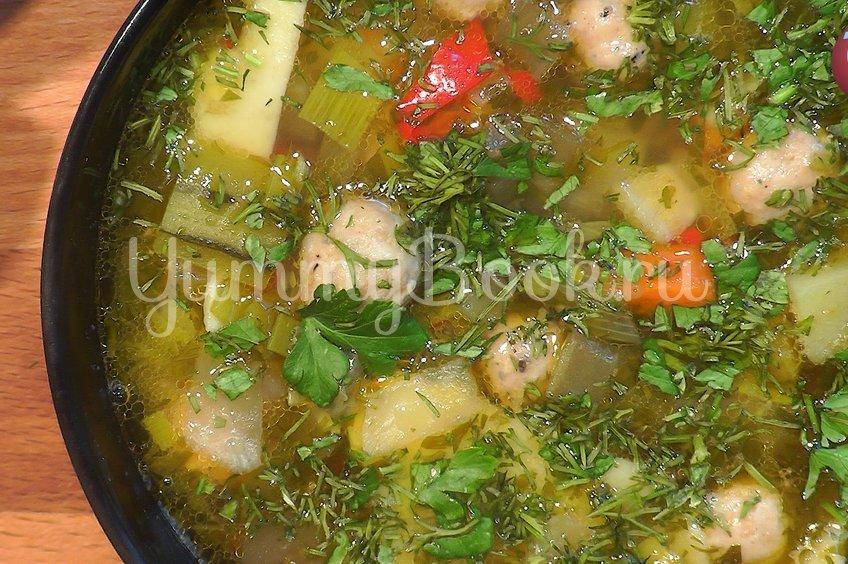 Суп с фрикадельками или немецкий свадебный суп
