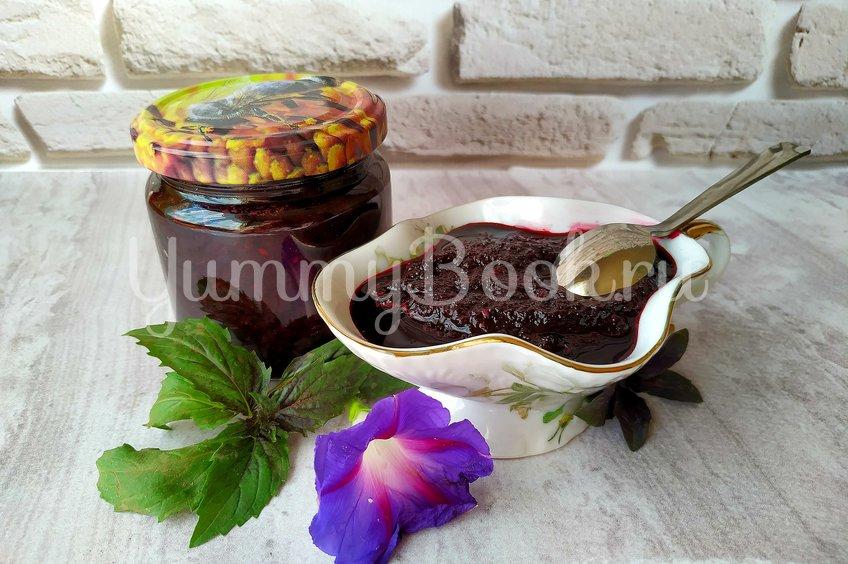 Соус из черноплодки к мясу, птице или рыбе