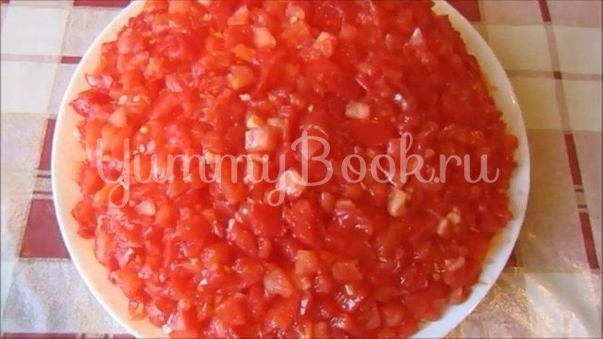 Слоеный салат «Синьор Помидор» - шаг 3