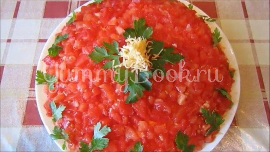 Слоеный салат «Синьор Помидор» - шаг 4