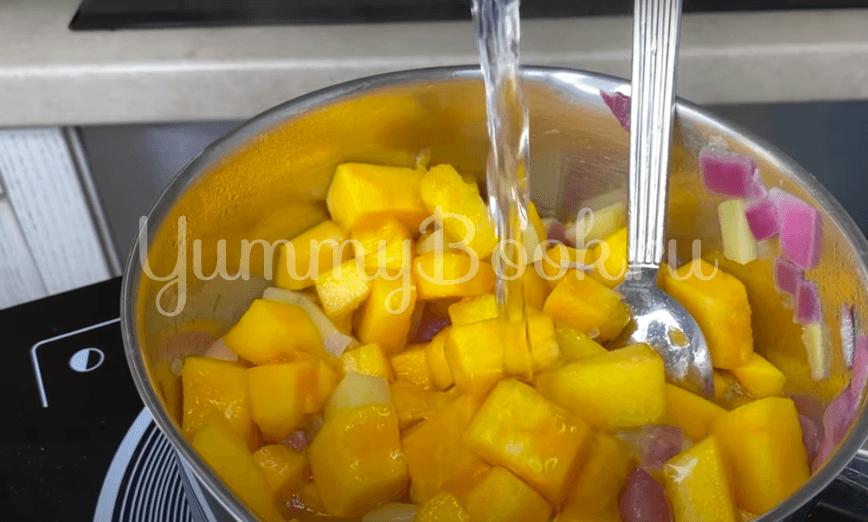 Тыквенный суп-пюре с сыром дорблю  - шаг 4